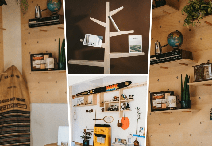 Storage Idea With Recycled Materials
